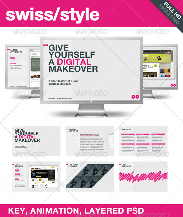 Swiss Style 设计素材下载