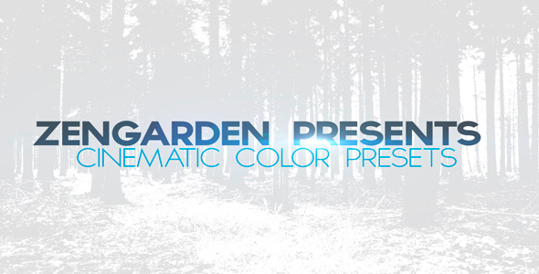 After Effects Project - VideoHive Mega Cinematic Color Presets Pack 301854