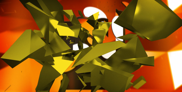 After Effects Project - VideoHive Debris Logo Intro 2981672