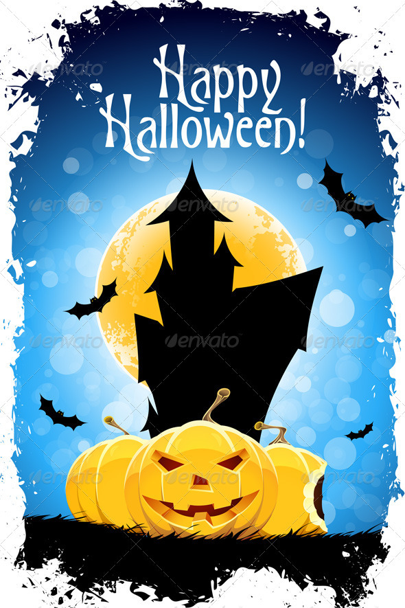 Happy Halloween Card - Halloween Seasons/Holidays