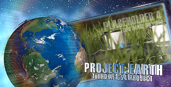 After Effects Project - VideoHive Project EARTH 106361