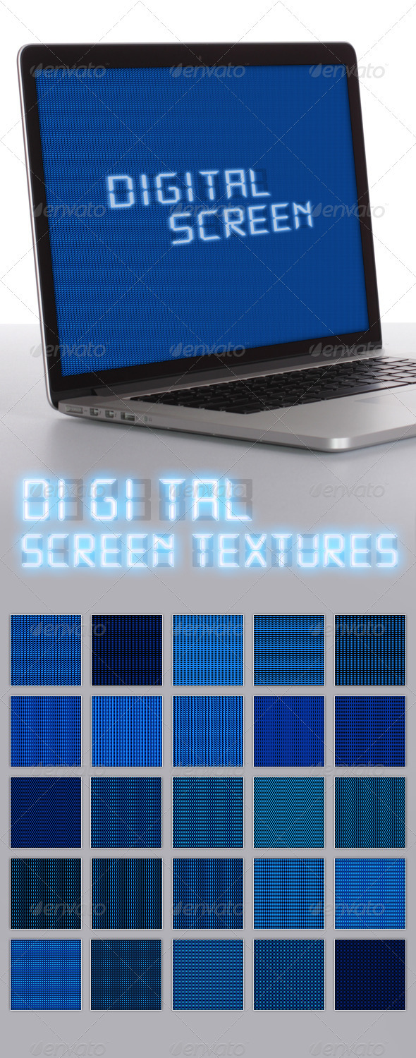 Digital Screen Textures - Miscellaneous Textures