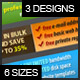 Web Banner Ad Template Set - GraphicRiver Item for Sale