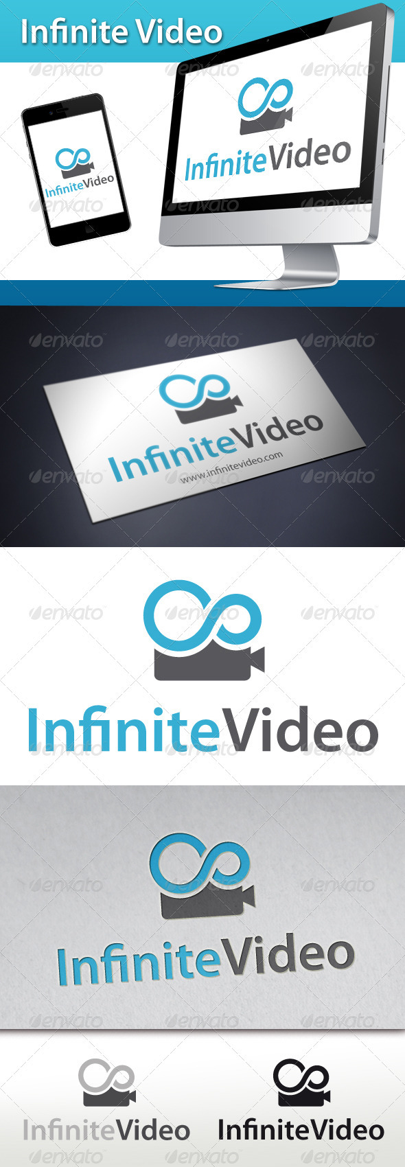 Infinite Video Logo - Objects Logo Templates