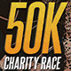 50K Charity Race Event Flyer - GraphicRiver Item for Sale