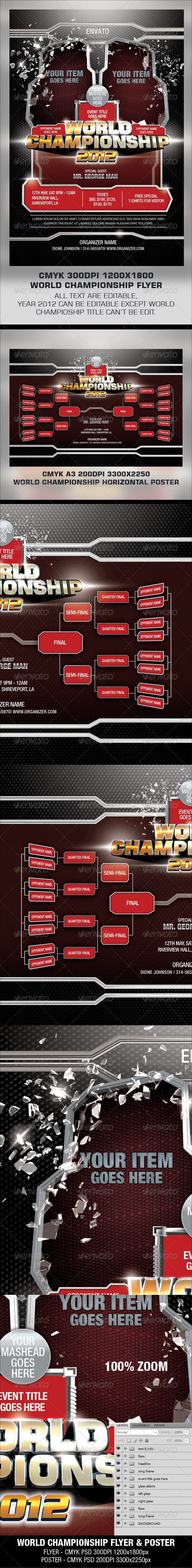 GraphicRiver World Championship Flyer 2974450