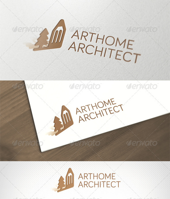 ArtHome Architect Logo Template - Objects Logo Templates