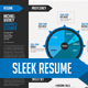 Sleek Resume - GraphicRiver Item for Sale