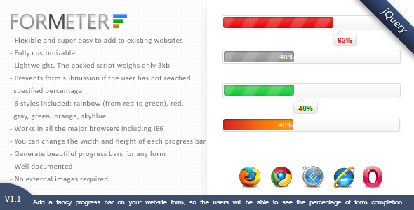 ForMeter - Form completion progress bar - CodeCanyon Item for Sale