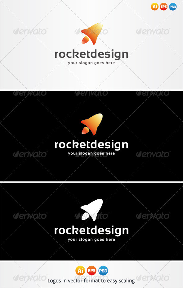 Rocket Design Logo - Objects Logo Templates