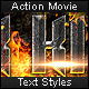 Action Movie - Text Styles - GraphicRiver Item for Sale