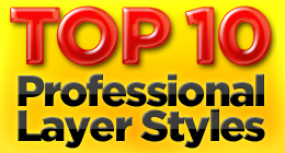Top 10 Professional Layer Styles