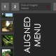 Aligned Menu V1 - ActiveDen Item for Sale
