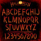 Grunge Vector Font - GraphicRiver Item for Sale