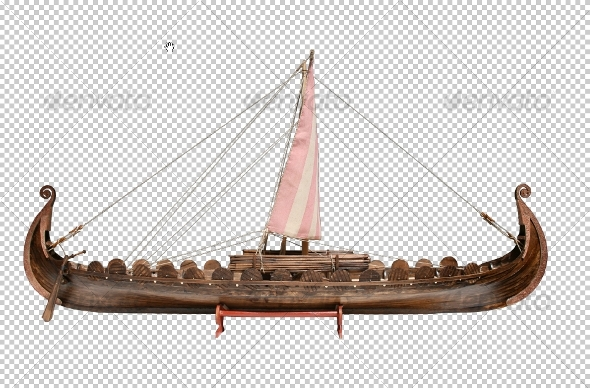 Viking Ship - Miscellaneous Isolated Objects