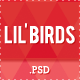 Lil&amp;#x27;Birds -- unique PSD Template - ThemeForest Item for Sale