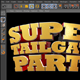 Super Tailgate Cinema 4D 3D Text File - 3DOcean Item for Sale