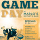 Game Day Sports Bar Flyer Template - GraphicRiver Item for Sale