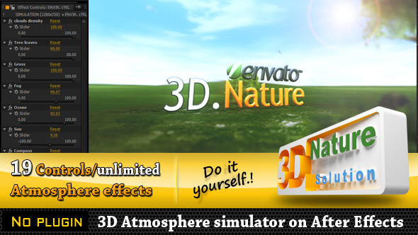 VideoHive 3D Nature Simulator 2986393