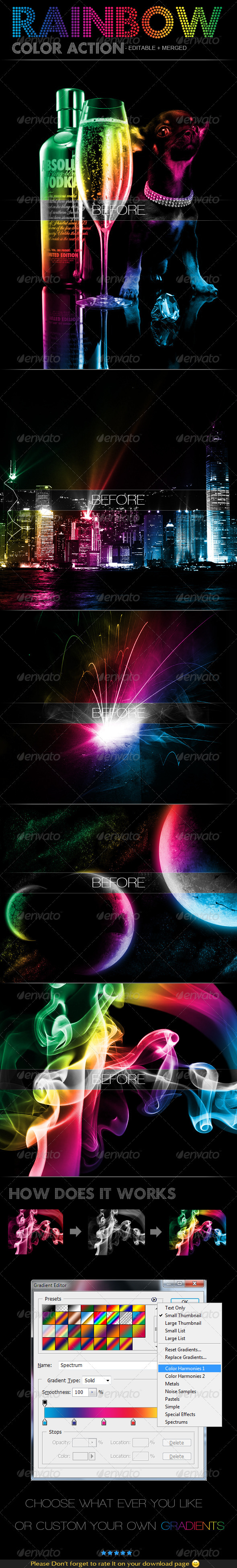 GraphicRiver Rainbow Color Action 309154