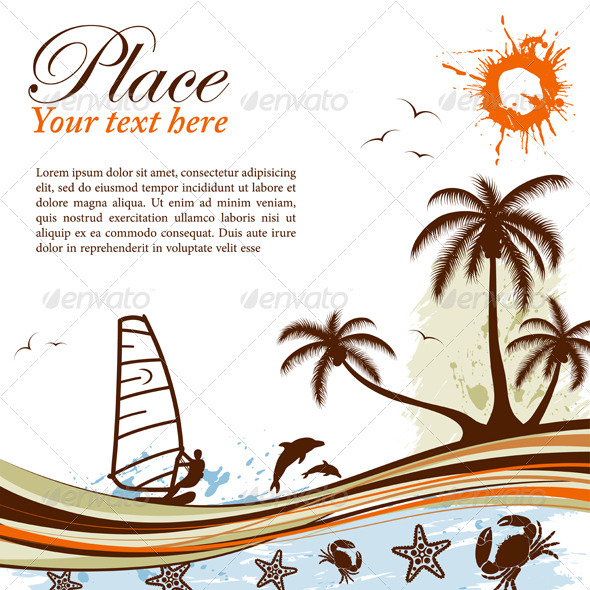 GraphicRiver Summer Background 309241