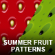 5 in 1 Seamless Fruit Patterns - GraphicRiver Item for Sale