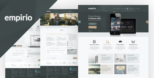 empirio PSD Template