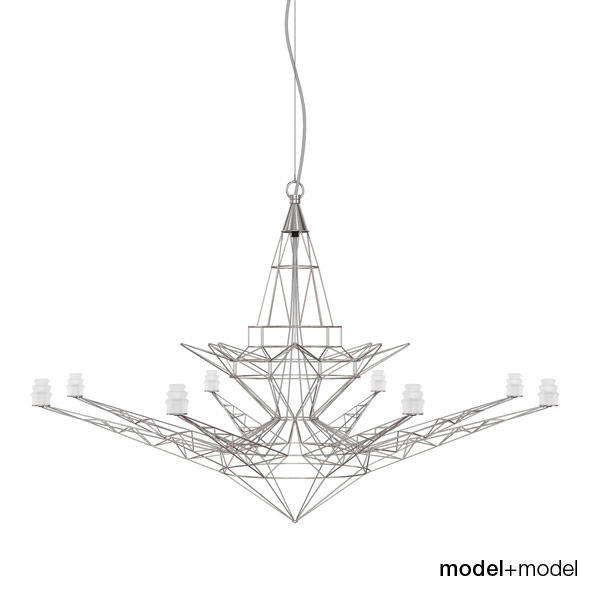 3DOcean Foscarini Lightweight suspension lamp 309620