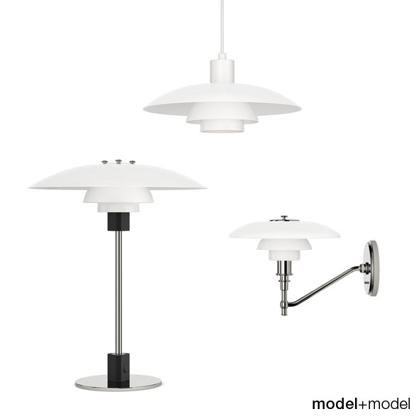 Louis Poulsen PH 4/3 lamps - 3DOcean Item for Sale