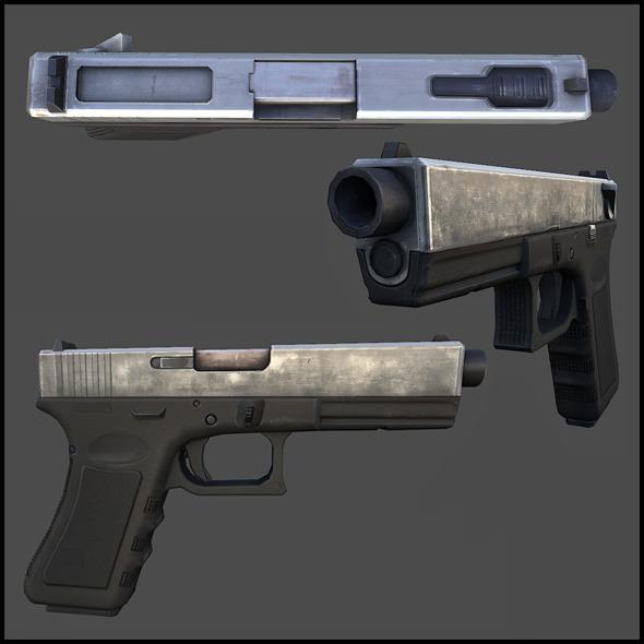 3DOcean Glock 18 3017868