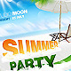 Summer Event Party Flyer / Poster - GraphicRiver Item for Sale