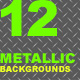 12 Metallic Backgrounds Pack - ActiveDen Item for Sale