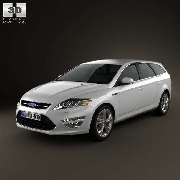 3DOcean Ford Mondeo wagon Mk4 2011 3020569