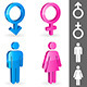 Gender Symbols - GraphicRiver Item for Sale