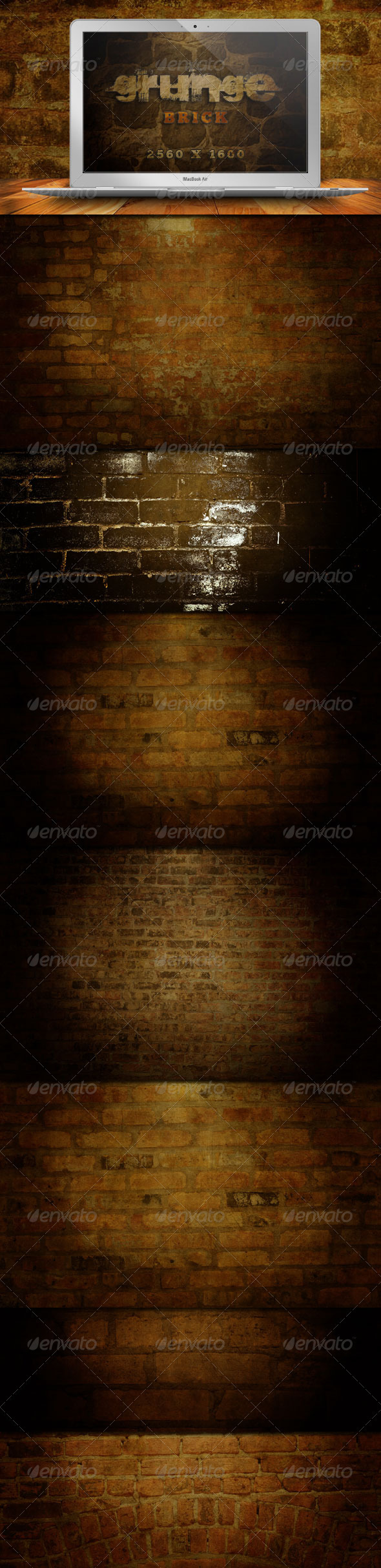 10 Grunge Brick Backgrounds - Backgrounds Graphics