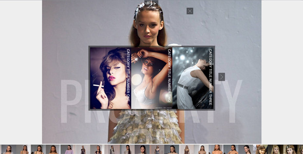 CC jQuery Image Gallery Slideshow with MousePan - Rip 310165 Src