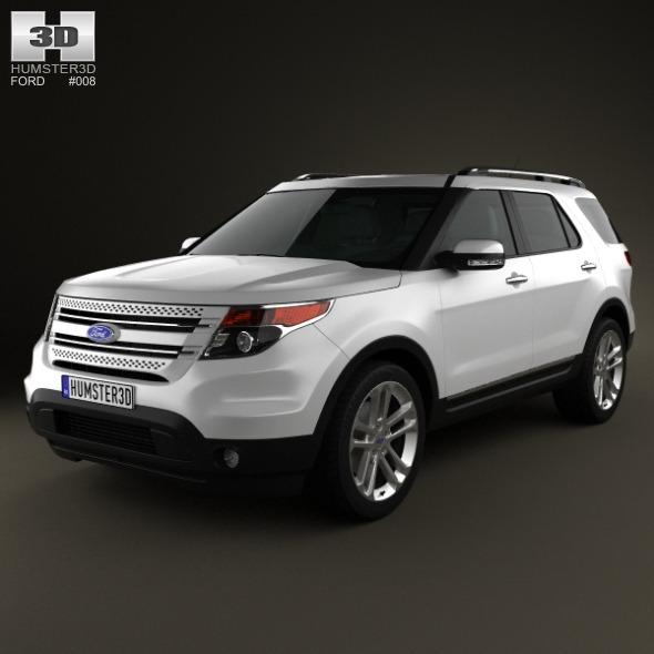 3DOcean Ford Explorer 2011 310210