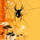 Halloween Background with Spider - GraphicRiver Item for Sale