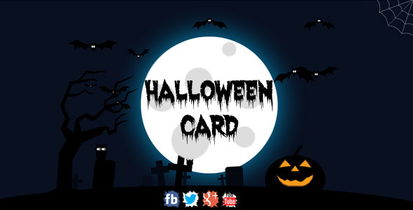 ActiveDen Halloween Card 3007683