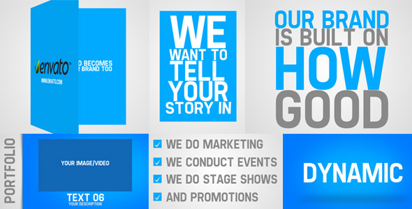 After Effects Project - VideoHive Promote Your Business 3026287