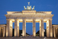 Brandenburg gate at night, Berlin - PhotoDune Item for Sale