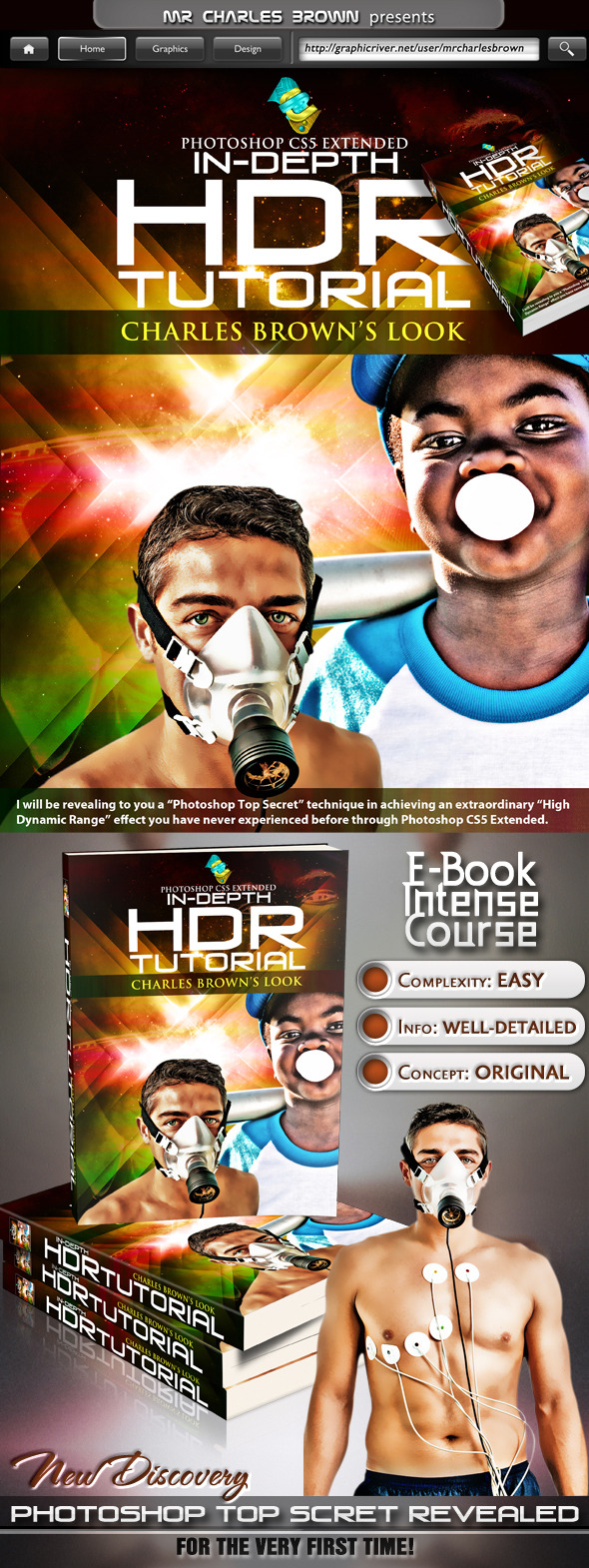 TutsPlus HDR In-depth Tutorial Charles Brown's Look 3027670