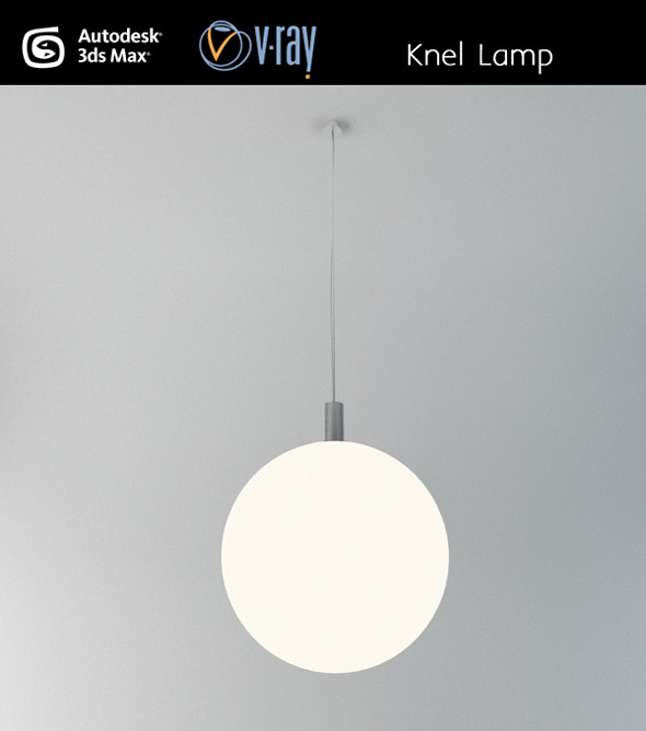 Knel ceiling lamp - 3DOcean Item for Sale