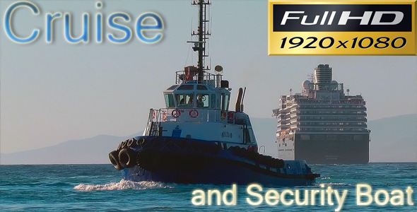 Cruise and Security Boat VideoHive 3029021 Stock Footage Holidays