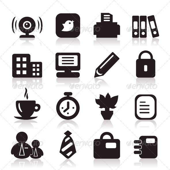 Office icons6 - Web Elements Vectors