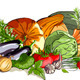 Vegetables Collection and a Still Life  - GraphicRiver Item for Sale