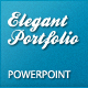 Elegant Portfolio Presentation Template - GraphicRiver Item for Sale
