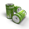 renewable energies concept - green and eco friendly batteries - PhotoDune Item for Sale