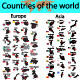 Countries of the world - GraphicRiver Item for Sale