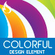 Colorful design element (repetition) - GraphicRiver Item for Sale